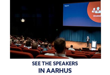 Speakers in Aarhus