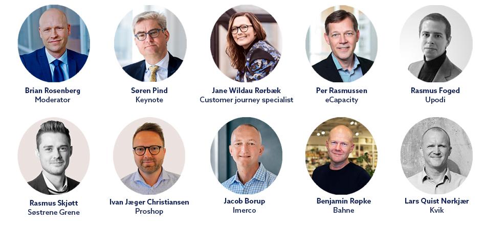 Talerne på Commerce Excellence 2019 i Aarhus