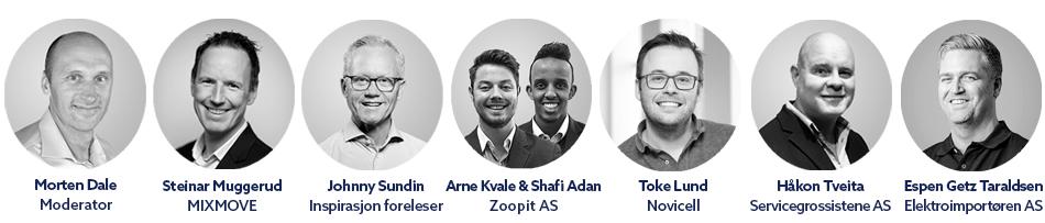 Talerne på Commerce Excellence 2019 i Oslo