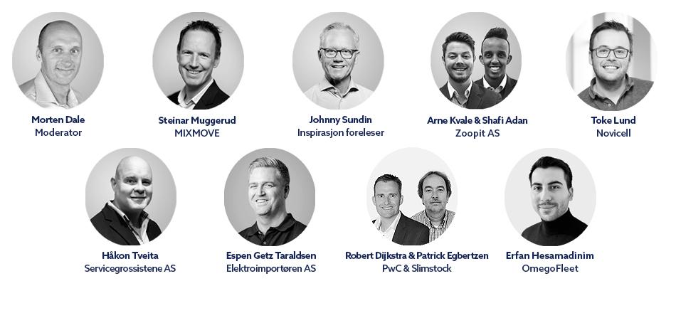 Talere på Commerce Excellence 2019 i Oslo
