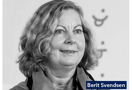 Berit Svendsen taler på Commerce Excellence 2020 i Oslo