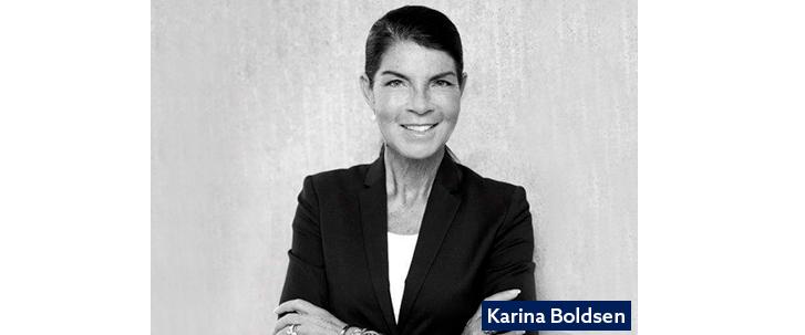 Karina Boldsen taler på Commerce Excellence 2020 i Aarhus